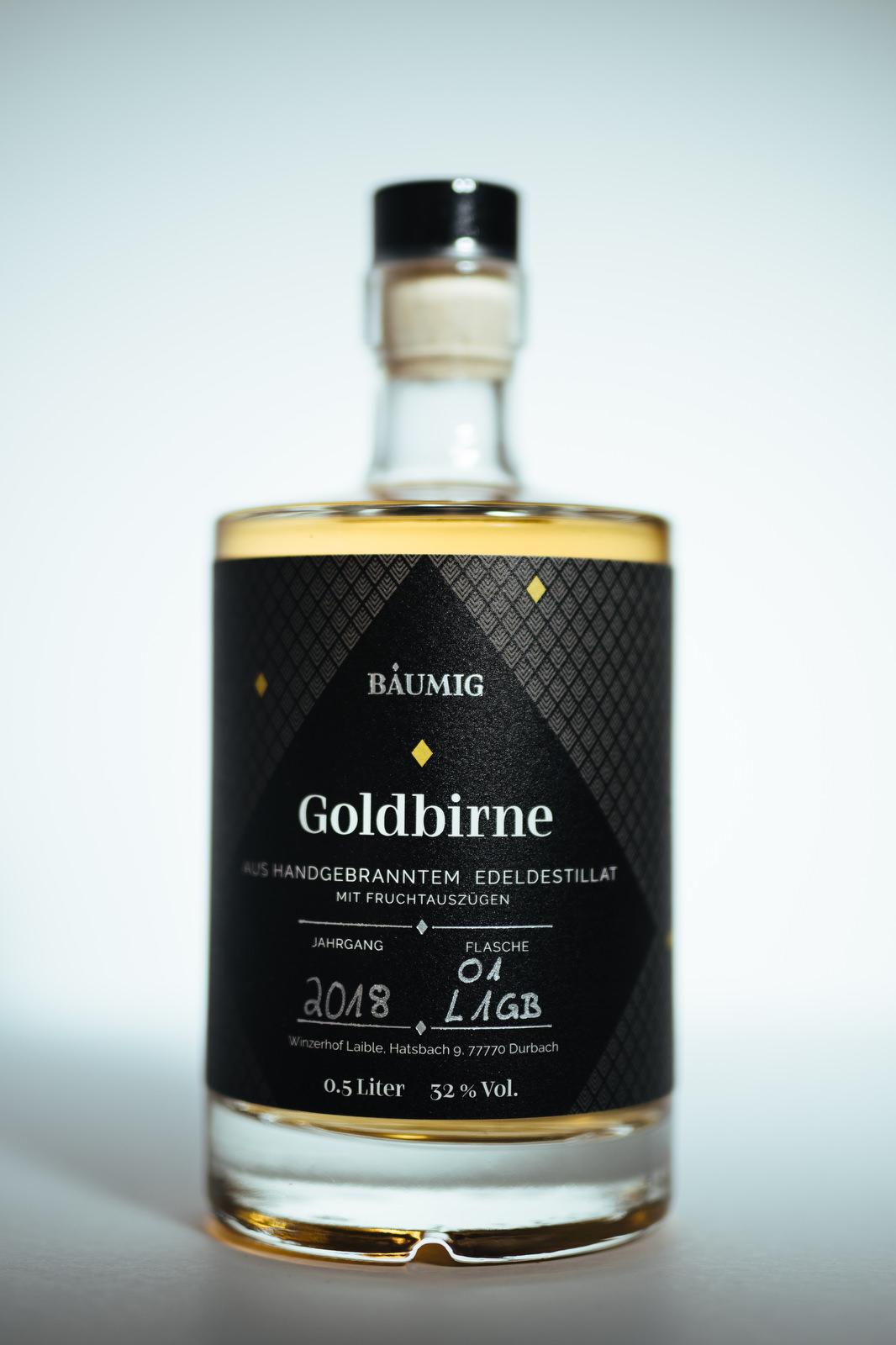Edeldestillat Goldbirne Flasche kaufen