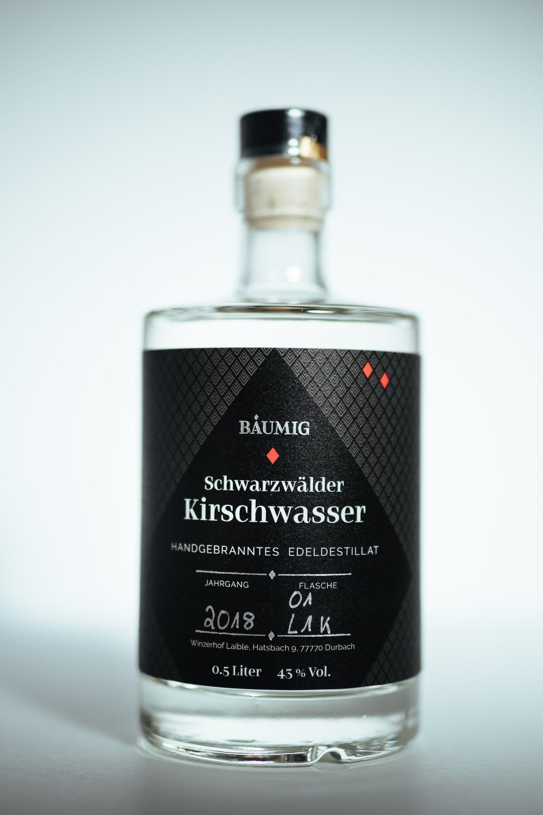 Edeldestillat Schwarzwälder Kirschwasser Flasche kaufen