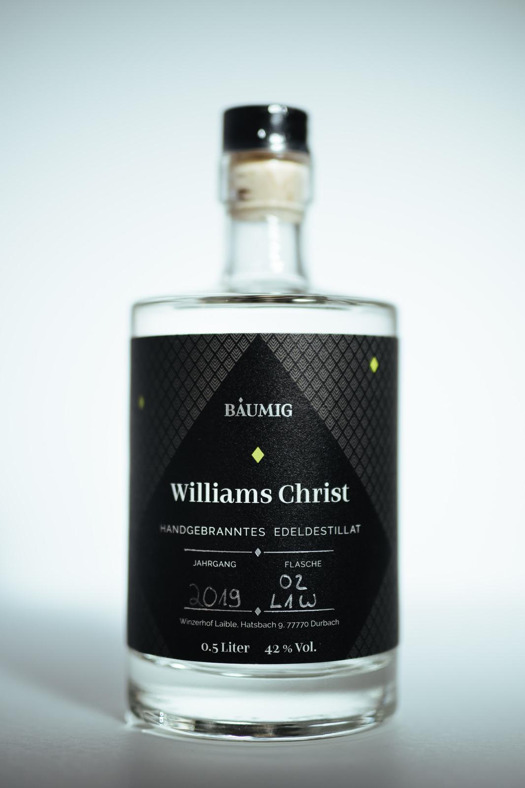 Edeldestillat Williams Christ Flasche kaufen