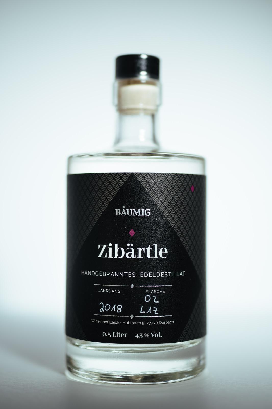 Edeldestillat Zibärtle Flasche kaufen
