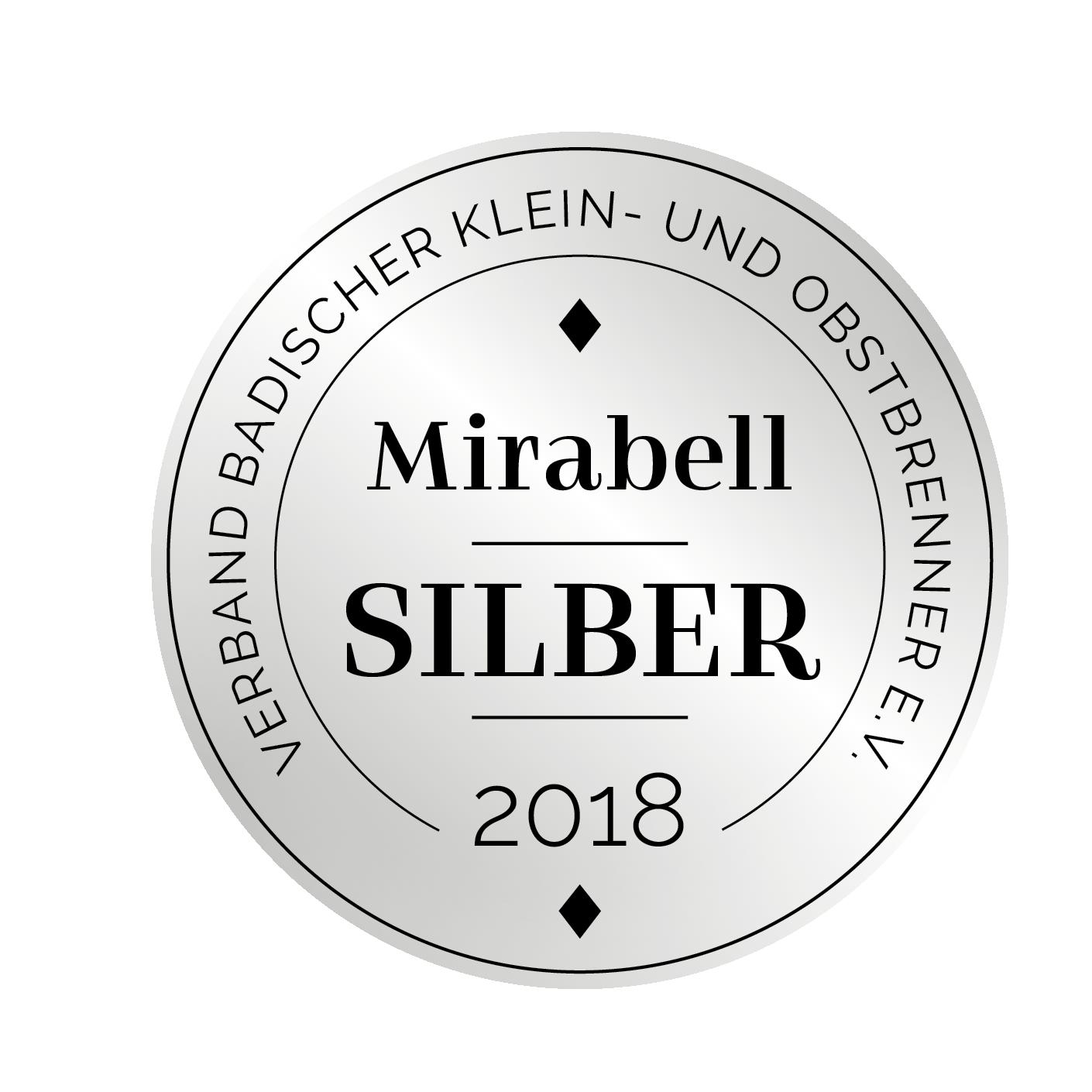 Edeldestillat Auszeichnung Mirabell