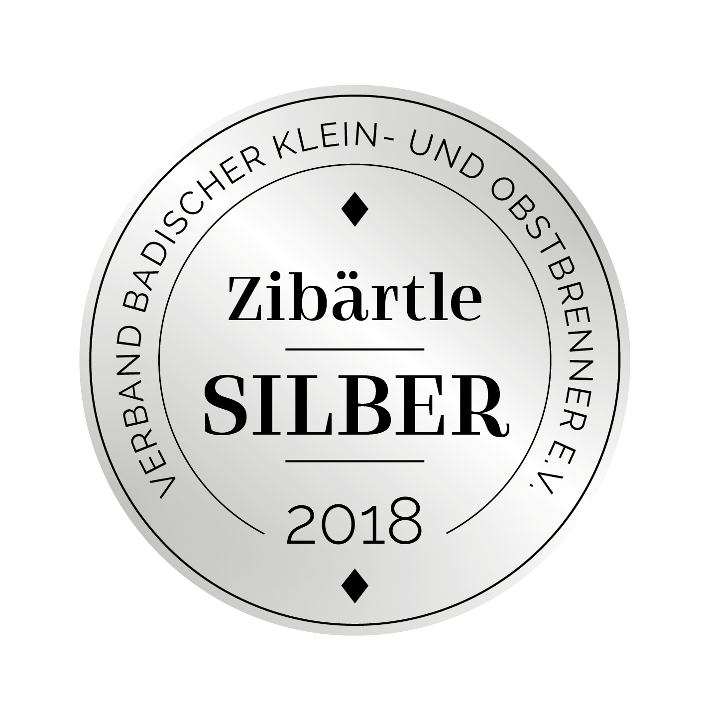 Edeldestillat Auszeichnung Zibärtle