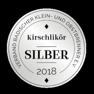 Edeldestillat Auszeichnung Kirschlikör